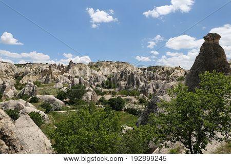 Swords Valley In Cappadocia