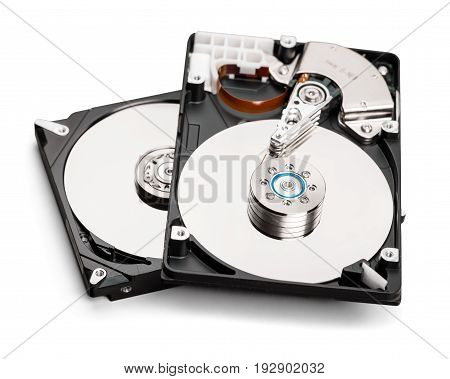 Drive hard hd disks hdd disk drive white