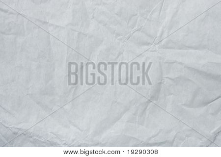 White Tissue Paper Texture. Focus across entire surface.