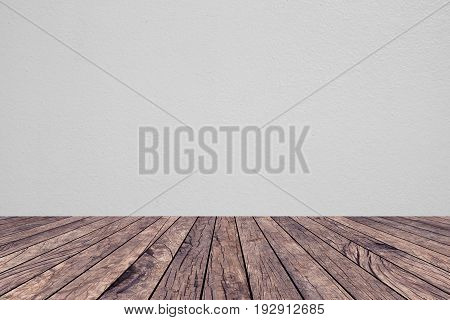 old vintage red brown wood panel tabletop with blurred light tan sepia background for show,promote product