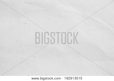 crumpled white paper background texture ,crease plain craft backdrop