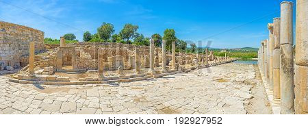 The Agora Of Patara