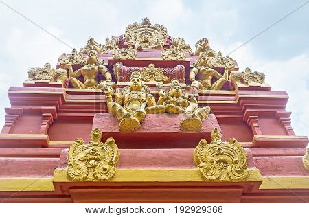Decorative Elements Of Hindu Temple