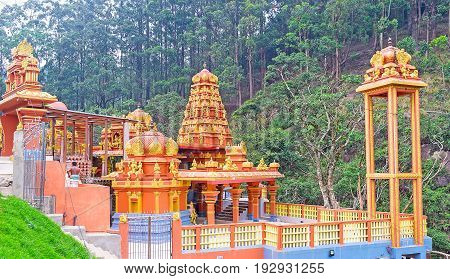 The Hindu Temple In Gorge