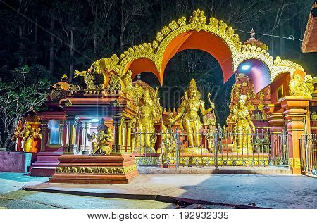 The Sita Temple In Evening Lights
