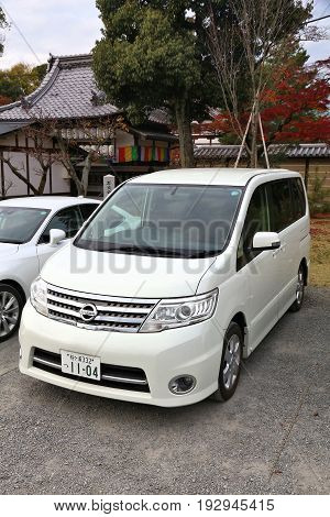 Minivan In Japan