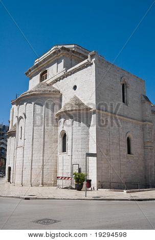 Basilica del Santo Sepolcro. Barletta. Apulia.