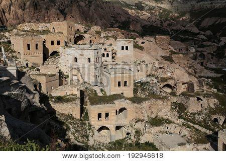 Houses In Cavusin Village, Cappadocia