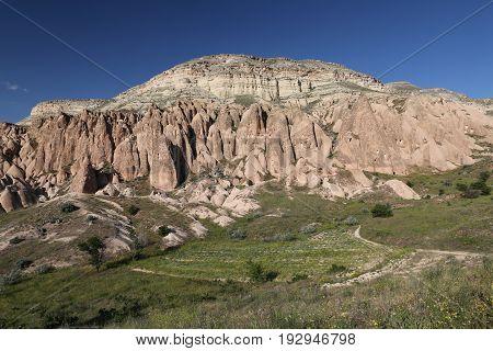 Rose Valley In Cavusin Village, Cappadocia