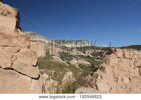 Ruins In Cavusin Village, Cappadocia