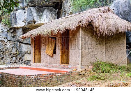 Traditional Asian Hut Or Home