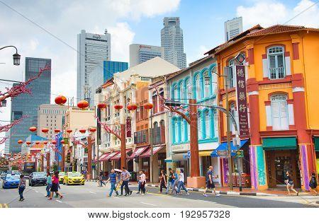 Chinatown Street Life, Singapore