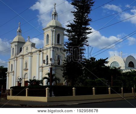 The Cathedral Of Esteli In The North Of Nicaragua