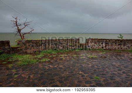 A Tropical Storm Off Las Isletas, Hundreds Of Small Island Off The Coast Of Granada In Lake Nicaragu