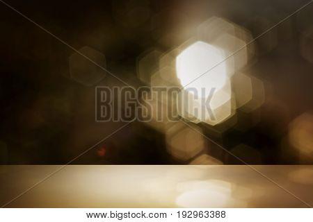 glitter gold color bokeh, de focus soft blur, color filter abstract background