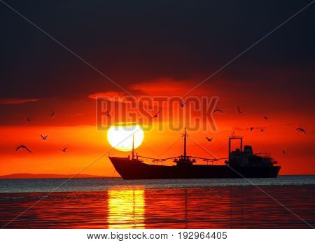 This photo was taken in Manila Bay, Philippines. The title of this photo is