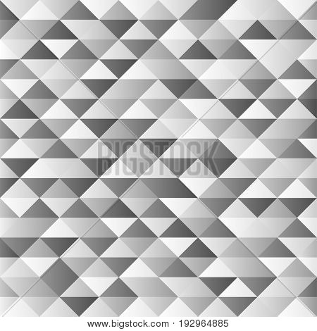 Abstract gray geometric shapes on background. Vector
