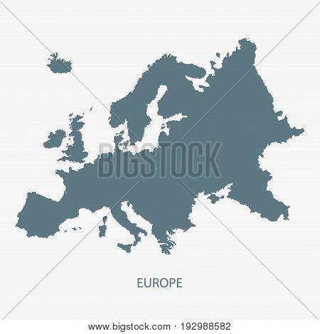 MAP OF EUROPE, EUROPEAN MAP, EUROPE MAP