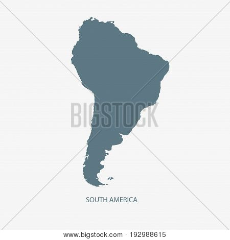 SOUTH AMERICA  MAP, MAP OF SOUTH AMERICA