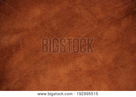 Texture of brown leather with the background.