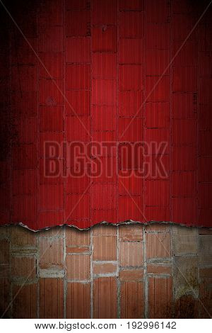 dual colours hi res grunge brick wall textures and backgrounds