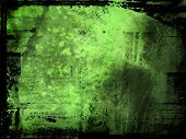 grunge style background poster