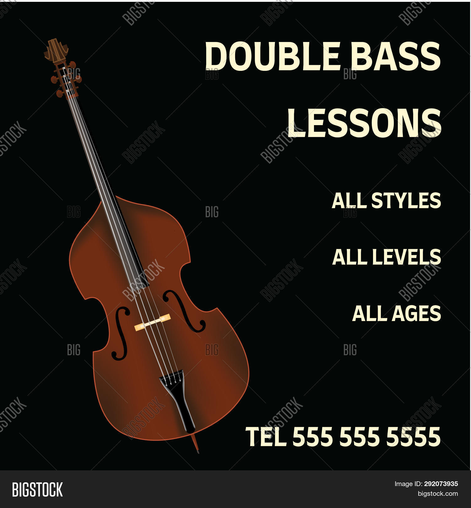 Double Bass Lessons Image & Photo (Free Trial) | Bigstock