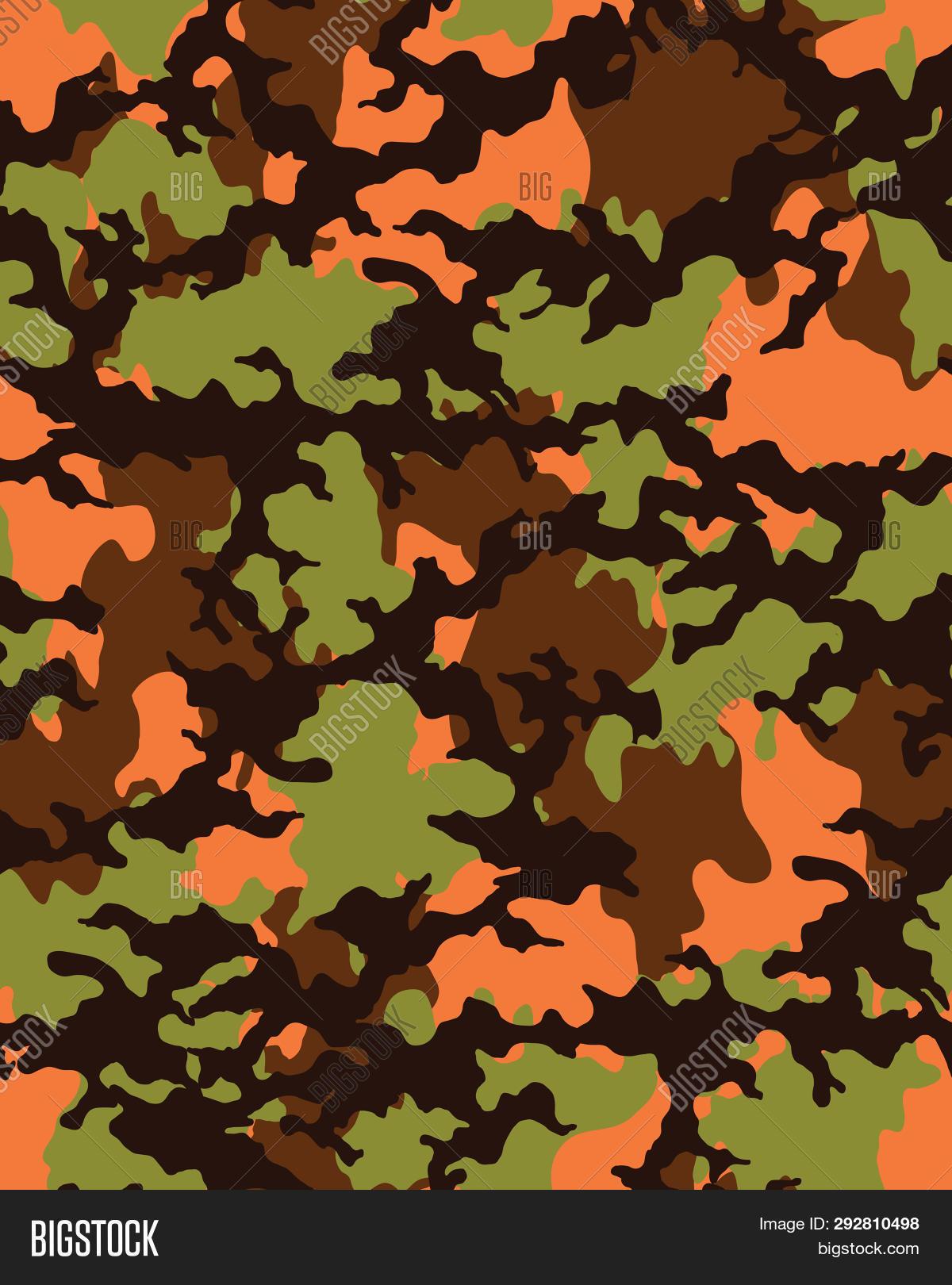 Camouflage Pattern Image Photo Free Trial Bigstock
