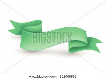 Green Ribbon Banner