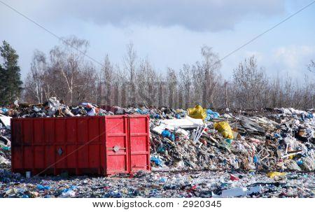 Conatainer And Dump