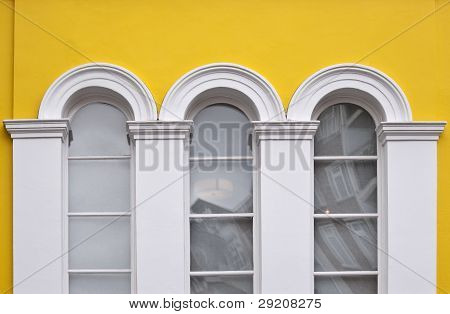 Window in Victorian style building