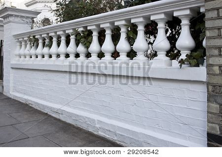 Balustrade in Victorian style building