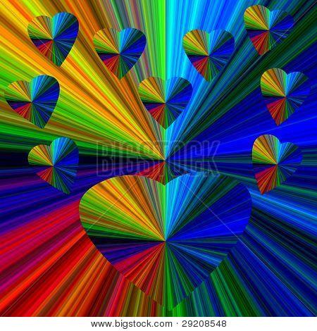 Rainbow Hearts.eps