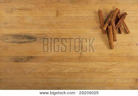 Cinnamon On Countertop