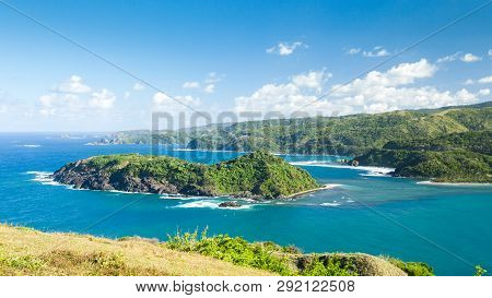 Beautiful View Of The Island From View Point In Philippines