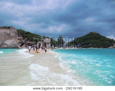 Nang Yuan beach Koh Tao, Thailand.
