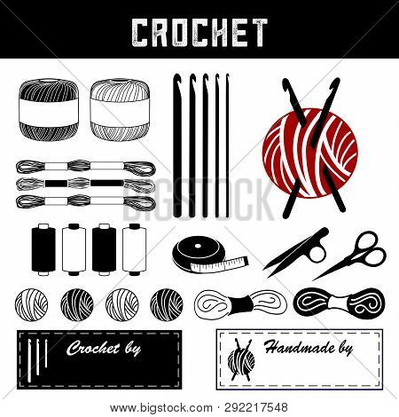 Crochet, Diy Tools And Supplies For Crochet, Tatting, And Making Lace: Crochet Hooks, Crochet Floss,