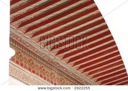 El Bahia Palace Ceiling Detail
