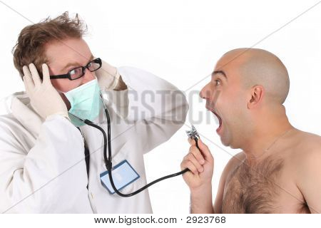 Funny Doctor And Patient