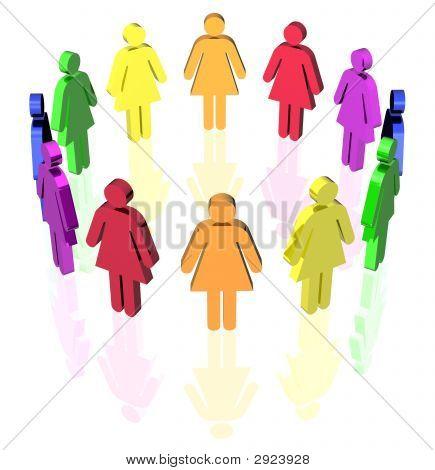 Gay Circle Women