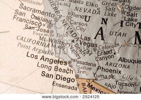 California- West Coast Usa