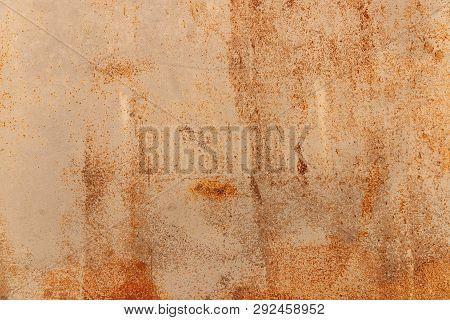 Metal Rusty Background, Metal Grunge Texture