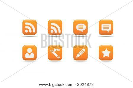 Web Icon Set  Apricot Series