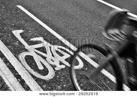 Bicycle in London