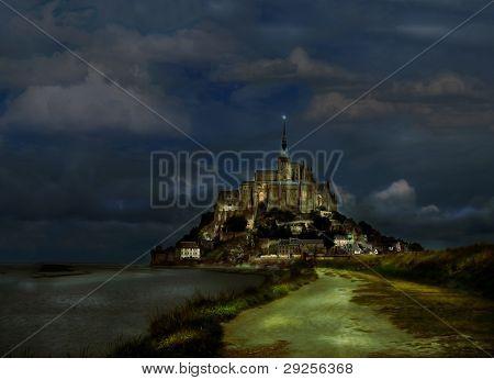 St-michel Abbey, France