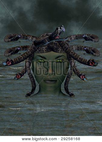 The Mythological Medusa.