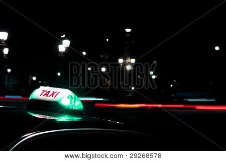 At Night It Is Always Safer To Get A Taxi