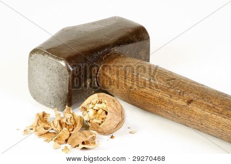 Sledge Hammer And Nut