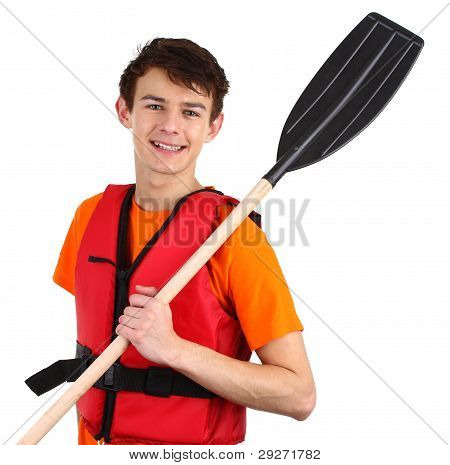 Guy With Oars