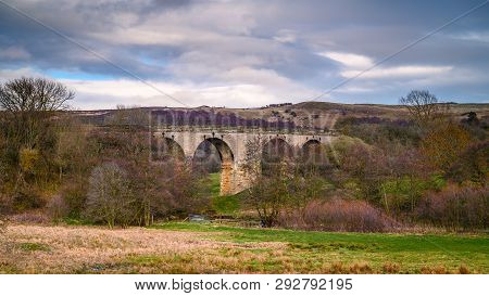 Disused Edlingham Railway Viaduct, Originally Opened In 1887 And Is Located Near The Hamlet Of Edlin